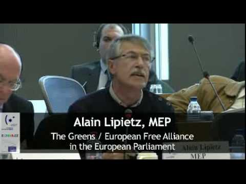 Alain Lipietz's Speech at EJC Symposium EP, Brussels