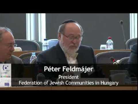 Péter Feldmájer's Speech at EJC Symposium EP, Brussels