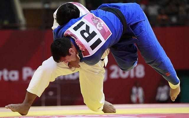 Iranian judo agrees to end decades-long boycott of Israeli athletes