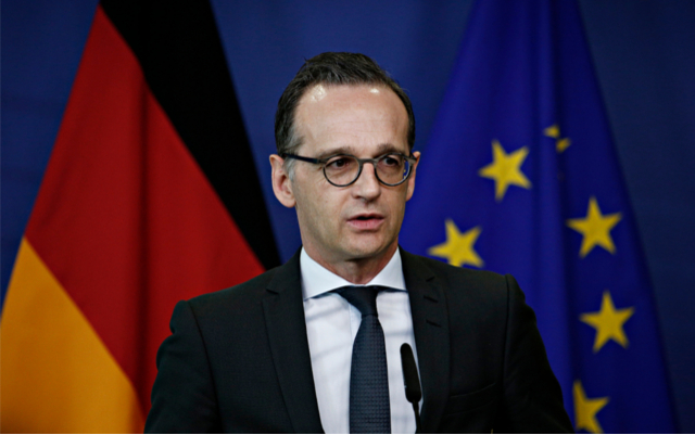 German foreign minister condemns UN treatment of Israel