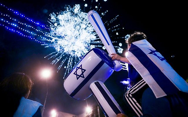 Israel transitions from Memorial to Independence Day