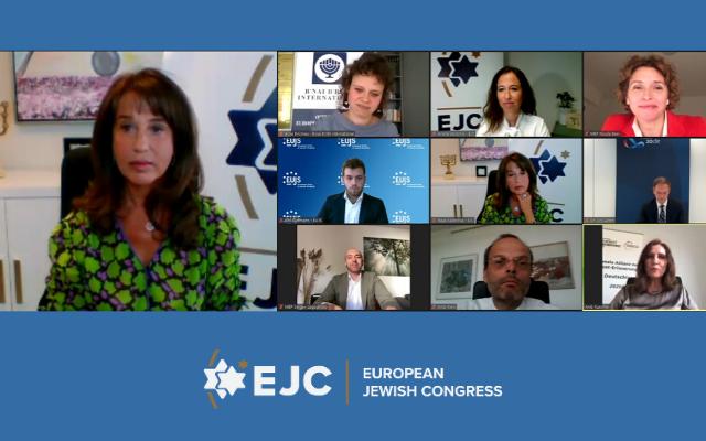 EJC Executive Vice President and CEO Raya Kalenova addresses webinar on the Double German Presidency