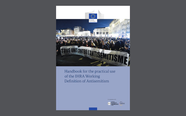 EJC welcomes practical handbook on the IHRA definition of antisemitism