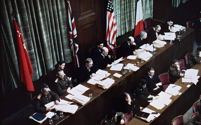 Complete Nuremberg Trials recordings online for the first time