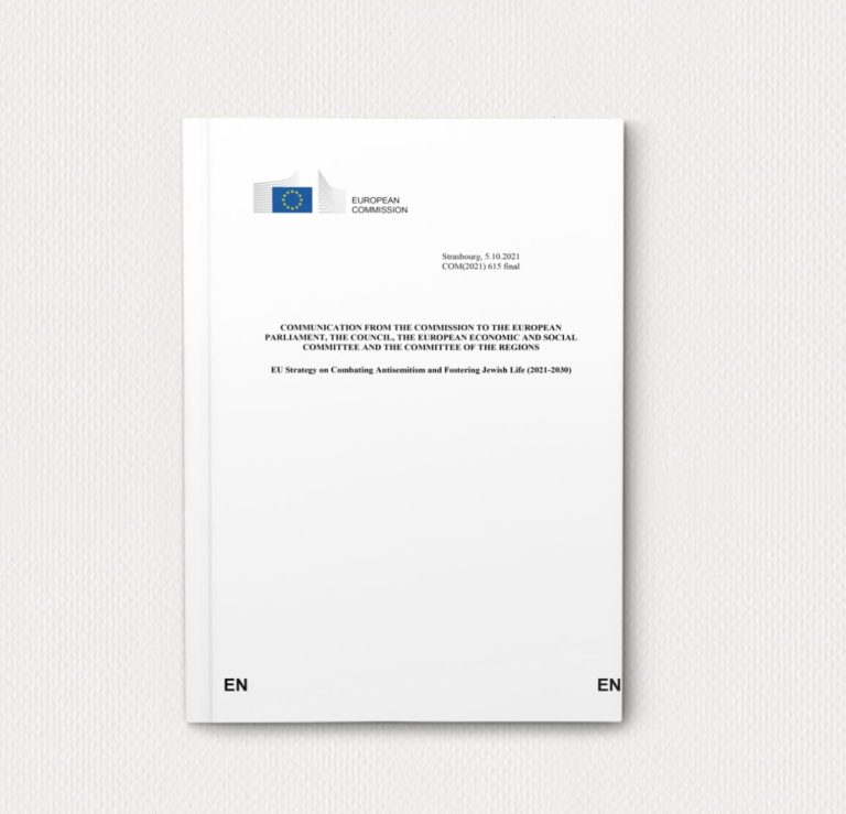 European Union Strategy on Combating Antisemitism and Fostering Jewish Life