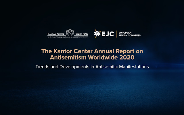 """""""The pandemic has created the social conditions where antisemitism thrives,"""" Moshe Kantor warned at the release of Antisemitism Worldwide report"""