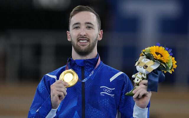 Israel's Artem Dolgopyat Wins Gold in Artistic Gymnastics at Tokyo Olympics