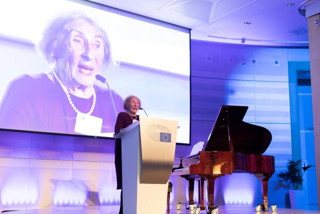 Ground-breaking verbatim play published on Holocaust survivor's 91st birthday