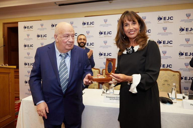 EJC bestows upon Vladimir Shternfeld the EJC Navigator to Jerusalem award