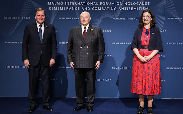 Dr. Moshe Kantor to address the Malmö International Forum on Holocaust Remembrance and Combating Antisemitism