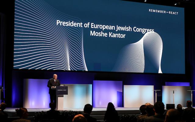 Speech by Moshe Kantor at the Malmö International Forum