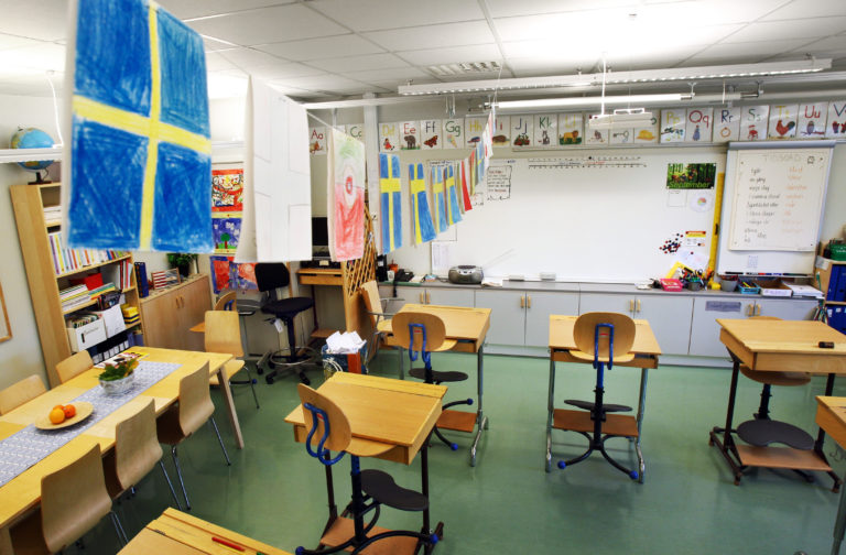 Assignment in Swedish teacher guide: Find evidence that the Holocaust never happened