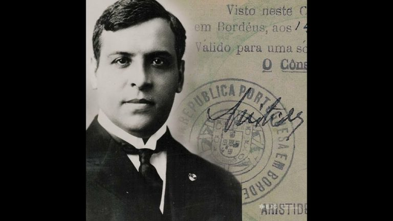 Honouring the life and deeds of Aristides de Sousa Mendes