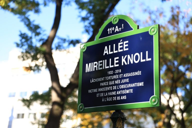 Mireille Knoll, murdered Holocaust survivor, honoured in Paris