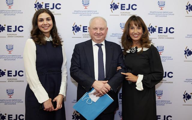 Vladimir Shternfeld receives the EJC Navigator to Jerusalem award