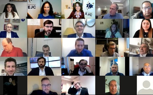 EJC holds online Directors' Meeting